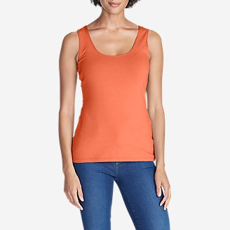 Women's Layerific Tank Top - Solid in Orange