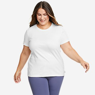 Women's Favorite Short-Sleeve Crewneck T-Shirt in White