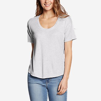 Women's Softgoods Thermal Short-Sleeve T-Shirt in Gray