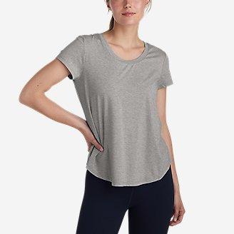 Details about  /Lot of 3 New Eddie Bauer Women/'s White T-Shirt Round Neckline Cotton 3XL
