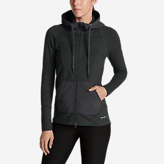 Women's Summit Full-Zip Hoodie in Gray