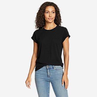 Women's Jungmaven X Eddie Bauer Lorel T-Shirt in Black