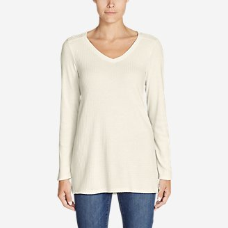 Women's Stine's Favorite Exploded Waffle Novelty Top in White