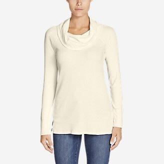 Women's Stine's Favorite Waffle Cowl-Neck Tunic in White