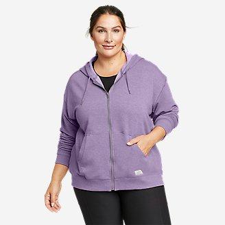 Women's Cozy Camp Full-Zip Hoodie in Purple