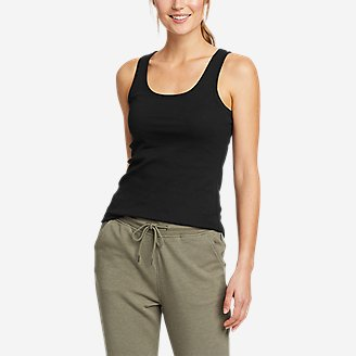 Women's Favorite Scoop-Neck Tank Top - Solid in Black
