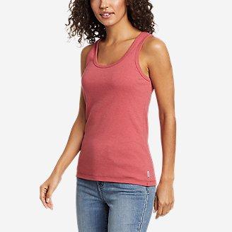 Women's Favorite Scoop-Neck Tank Top - Solid in Red
