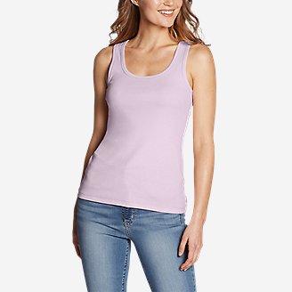 Women's Favorite Scoop-Neck Tank Top - Solid in Purple