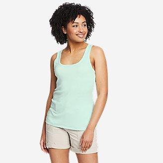 Women's Favorite Scoop-Neck Tank Top - Solid in Green