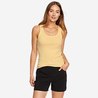 Women's Favorite Scoop-Neck Tank Top - Solid in Yellow