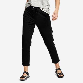 Women's Weekend Ankle Pants in Black