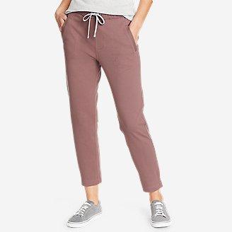 Women's Weekend Ankle Pants in Purple