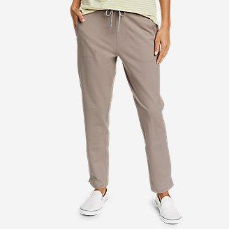 Women's Weekend Ankle Pants in Gray