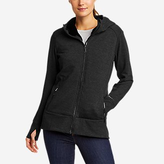 Women's Cozy Cabin Full-Zip Hoodie - Faux Fur in Black