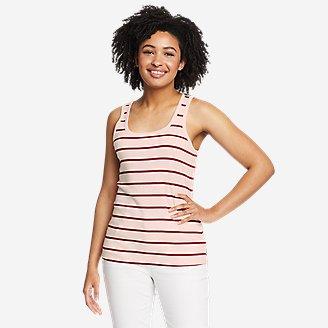 Women's Favorite Scoop-Neck Tank Top in White