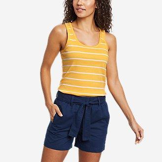 Women's Favorite Scoop-Neck Tank Top in Yellow