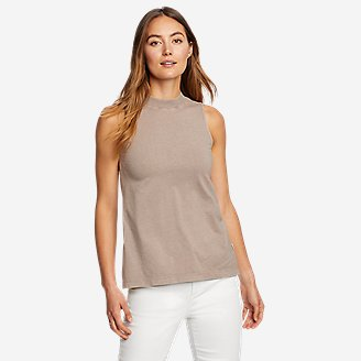 Women's Mineral Wash Novelty Tank Top in Gray