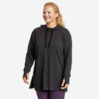 Women's Myriad Thermal Hoodie in Gray