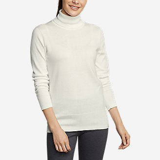 Women's Christine Tranquil Turtleneck Sweater in White
