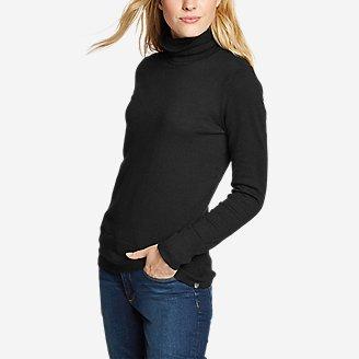 Women's Christine Tranquil Turtleneck Sweater in Black
