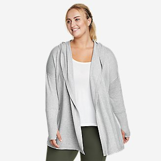 Women's Engage Wrap Sweater in Gray