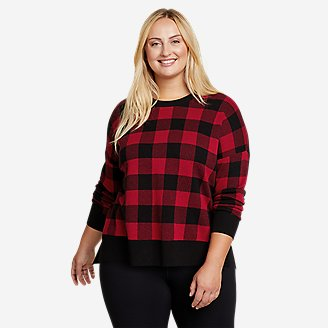 Women's Cabin Calling Sweater in Red
