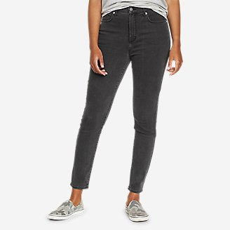 Women's Voyager High-Rise Skinny Jeans - Slightly Curvy in Gray