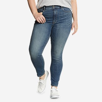 Women's Voyager High-Rise Skinny Jeans - Slightly Curvy in Blue