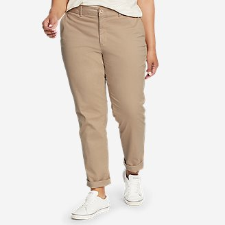 Women's Stretch Legend Wash Pants - Boyfriend in White