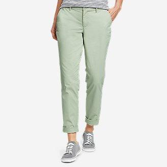 Women's Stretch Legend Wash Pants - Boyfriend in Green