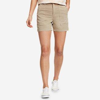 Women's Marina Utility Shorts in Beige