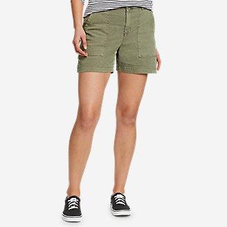 Women's Marina Utility Shorts in Green