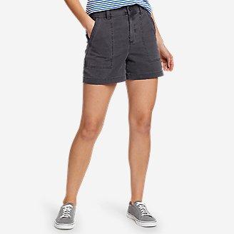 Women's Marina Utility Shorts in Gray
