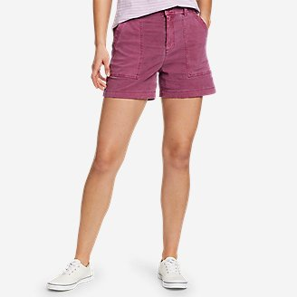 Women's Marina Utility Shorts in Red