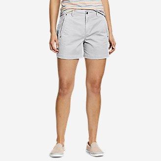 Women's Cityscape Shorts in Beige