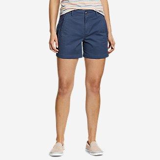 Women's Cityscape Shorts in Blue
