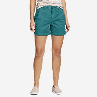 Women's Cityscape Shorts in Green