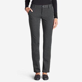 Women's Travel Pants - Slightly Curvy in Gray