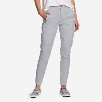 Women's Cityscape Ankle Pants in Beige