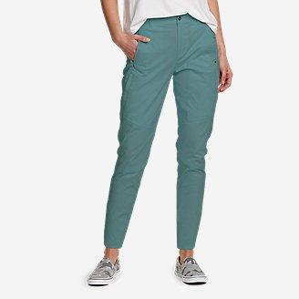 Women's Cityscape Ankle Pants in Green