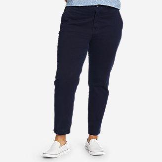 Women's River Rock Ankle Pants in Blue