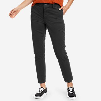 Women's River Rock Ankle Pants in Black