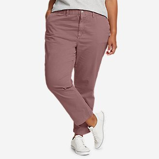 Women's River Rock Ankle Pants in Purple