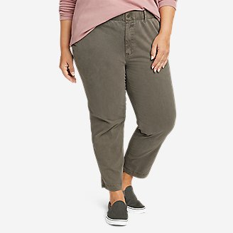 Women's River Rock Ankle Pants in Green