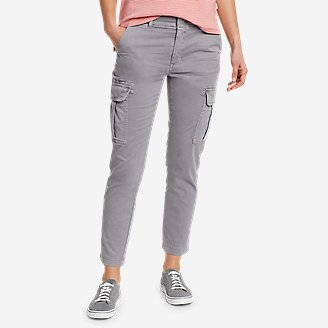 Women's River Rock Cargo Pants in Gray