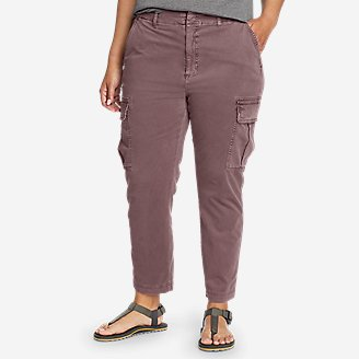 Women's River Rock Cargo Pants in Purple