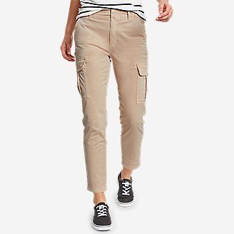 Women's River Rock Cargo Pants in Beige