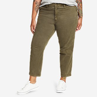 Women's River Rock Cargo Pants in Green