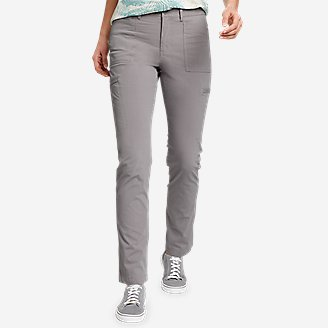 Women's Guides' Day Off Straight Leg Pants in Gray