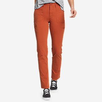Women's Guides' Day Off Straight Leg Pants in Orange